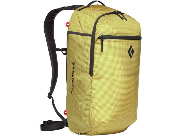 Black Diamond Trail Zip 18 Rugzak, geel